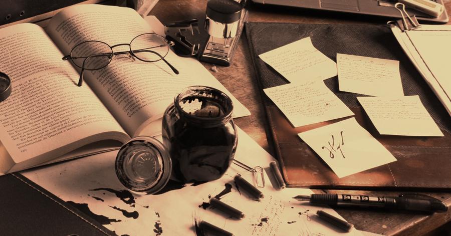Το γραφείο του συγγραφέα