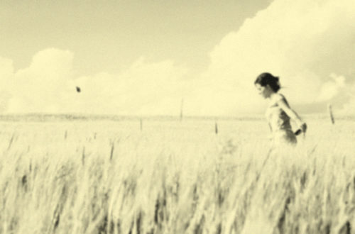 Γυναίκα στα χωράφια