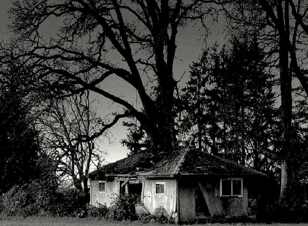 Εγκαταλελειμμένο σπίτι στο δάσος