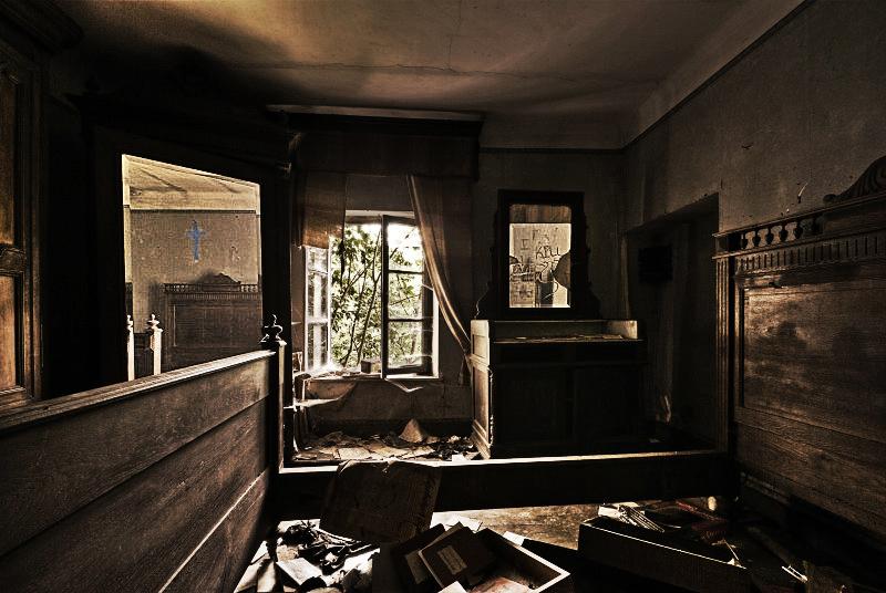 Κατεστραμμένο σπίτι