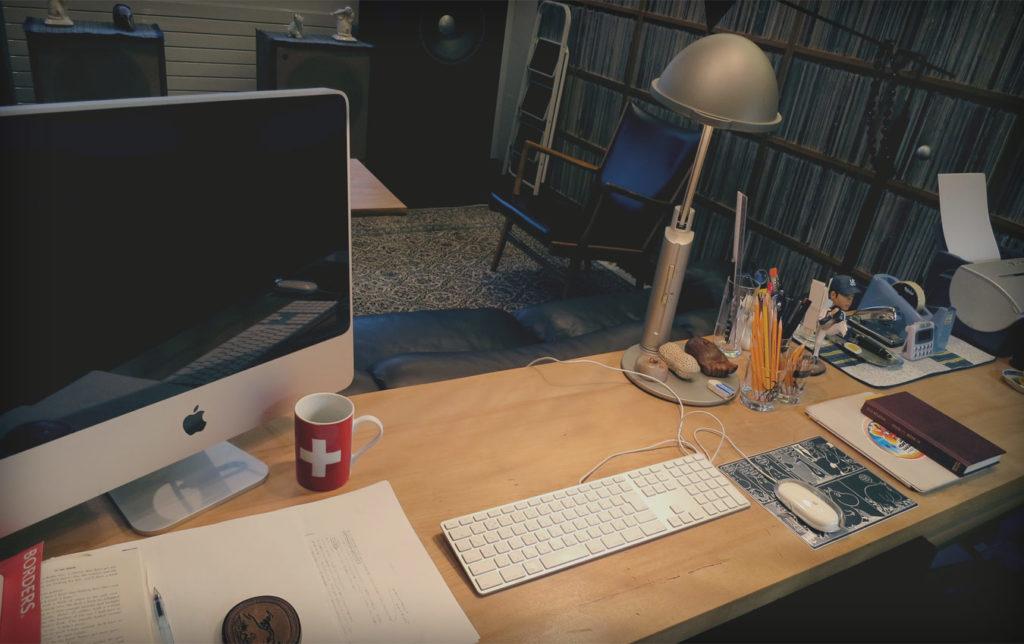 Το γραφείο του Χαρούκι Μουρακάμι