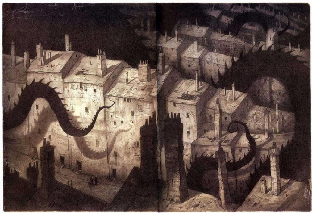 the arrival city illustration