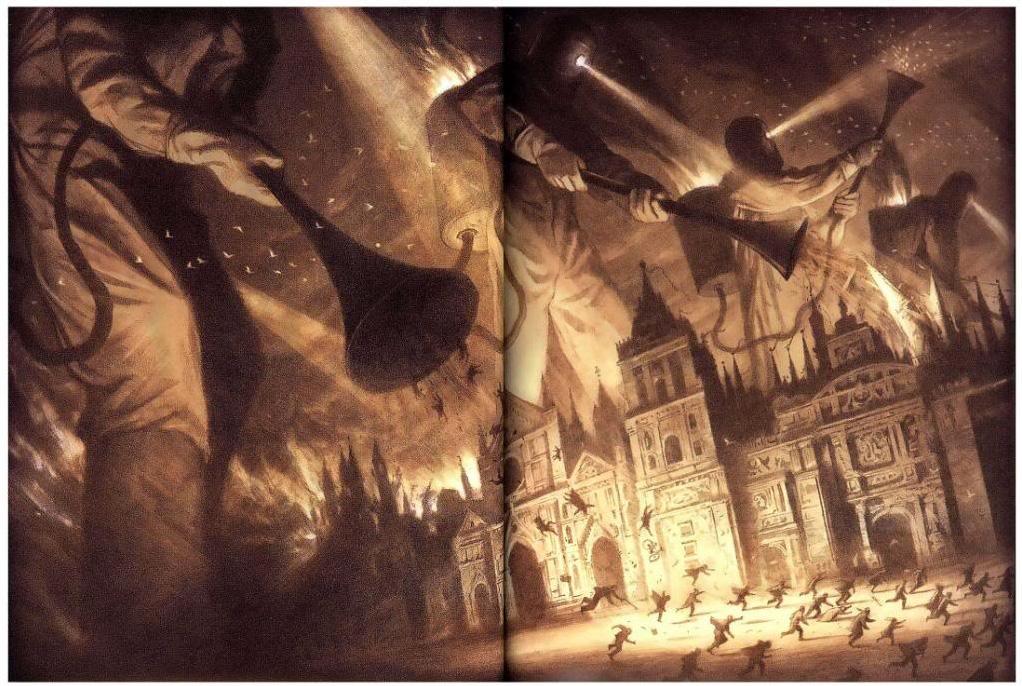 the arrival destruction illustration