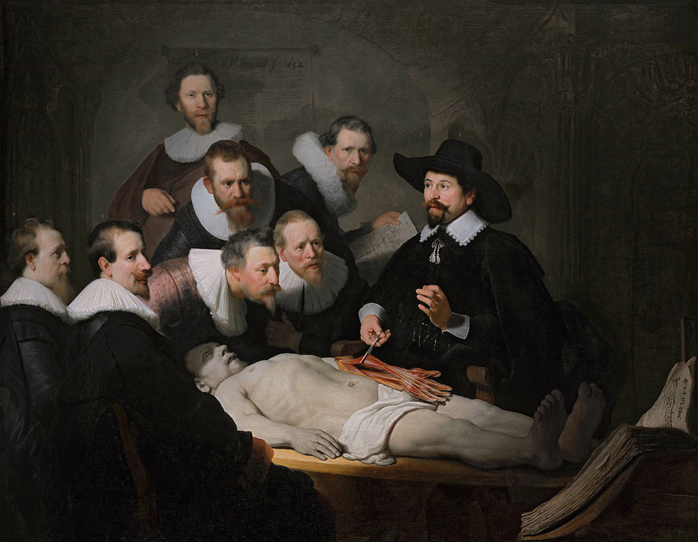 The Anatomy Lesson of Dr. Nicolaes Tulp Rembrandt