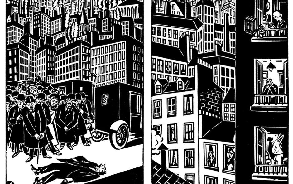 H πόλη του Frans Masereel – Μυθιστόρημα σε 100 ξυλογραφίες