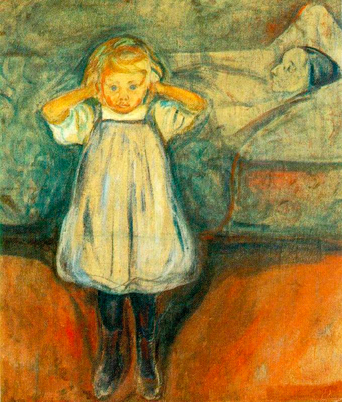 Death and the Child, Edvard Munch