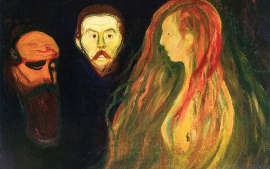 Tragedy, Edvard Munch