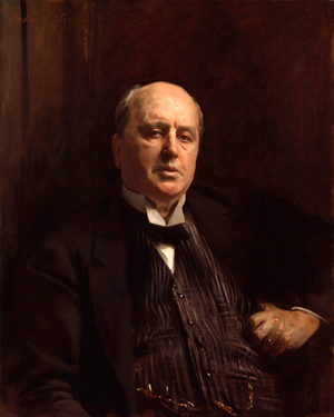Henry James by John Singer Sargent cleaned